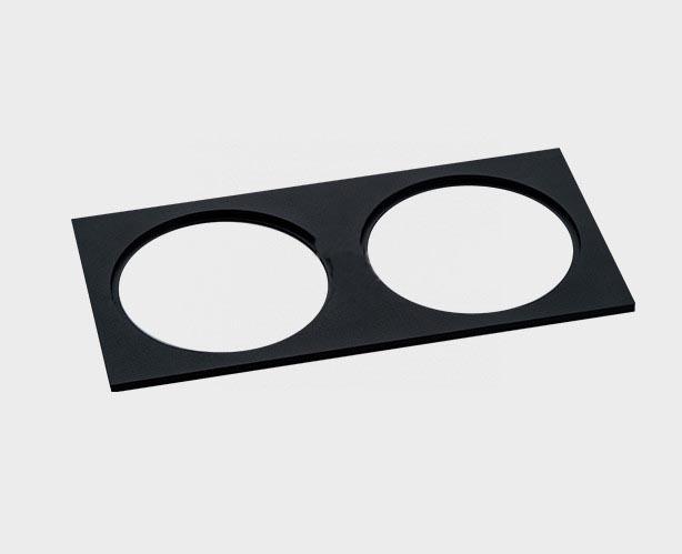 Рамка Italline IT06-6016 black FR2 IT06