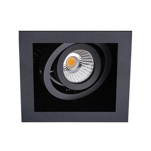 цена на Встраиваемый светодиодный светильник Italline DL 3014 black