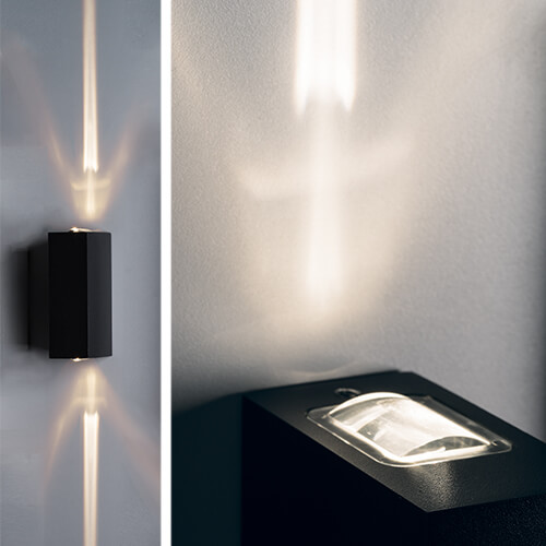 Уличный настенный светодиодный светильник Italline IT01-A150/2 black italline fashion 2 black