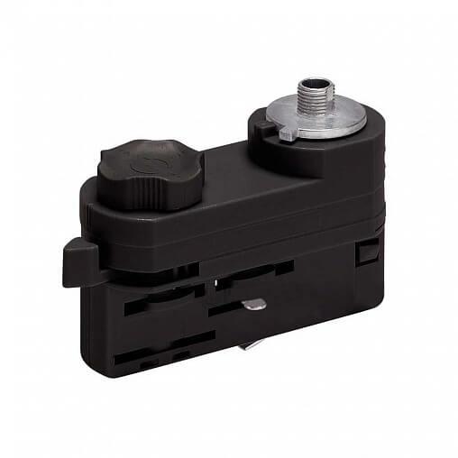 Адаптер для шинопровода Megalight WSO 80 black WSO трехфазный (для трехфазного шинопровода)