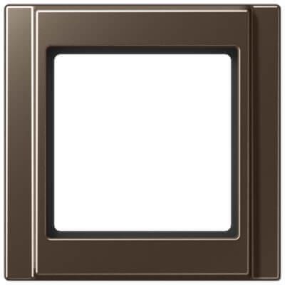 лучшая цена Рамка 1-постовая Jung A 500 мокка A581MO
