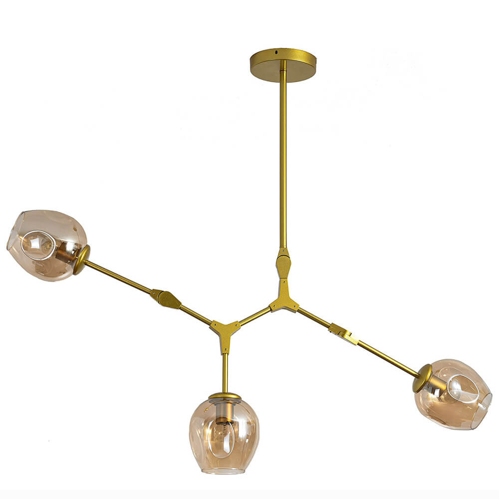Потолочная люстра Kink Light Нисса 07512-3,33 kink light подвес оскар оранжевый h 120 w 51 36 e27 3 60w
