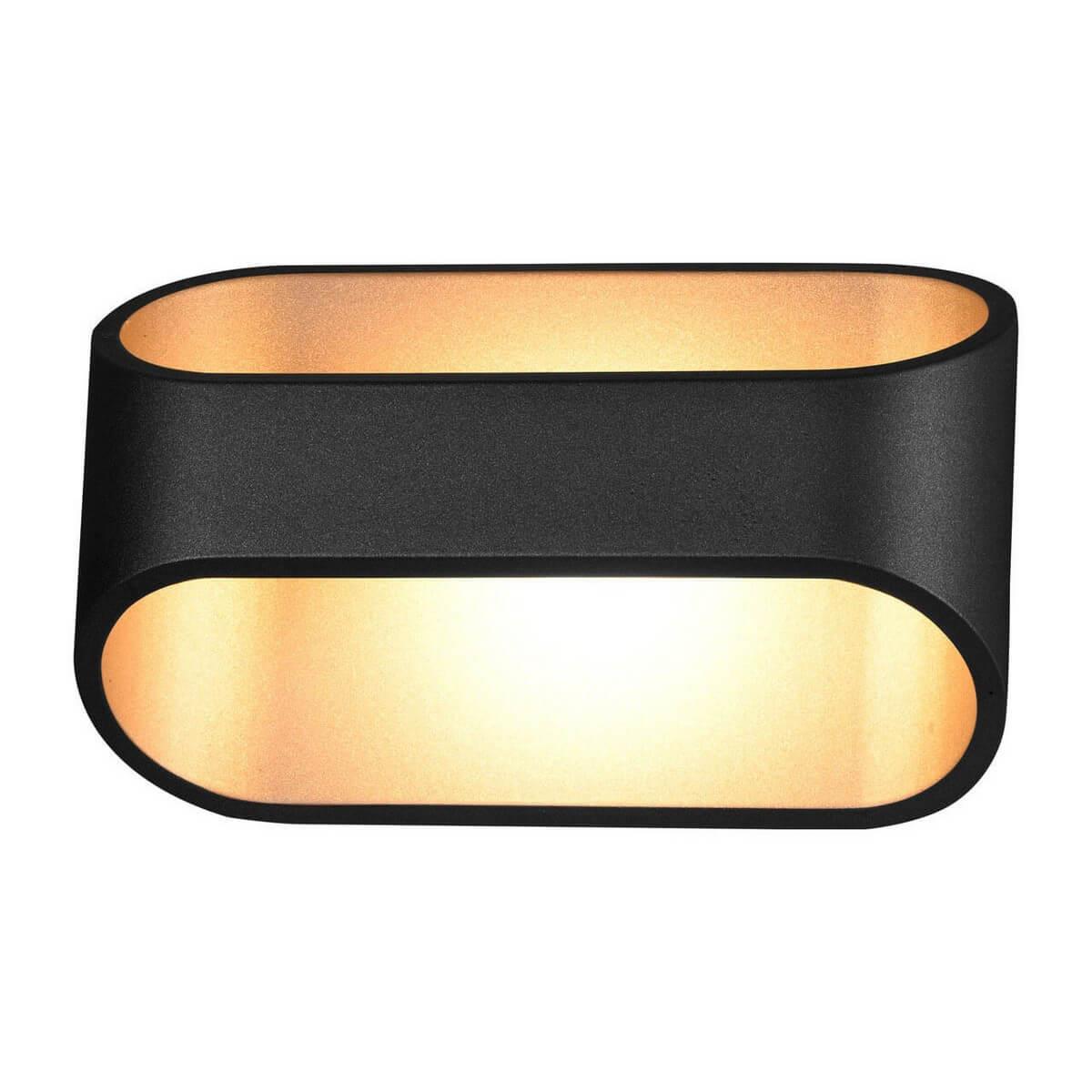 Настенный светодиодный светильник Kink Light Ось 08596,19 jd коллекция черная ось черная ось с одной подсветкой