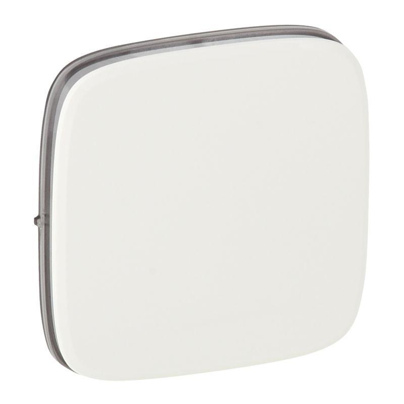 Лицевая панель Legrand Valena Allure выключателя одноклавишного белая 755005 цена в Москве и Питере