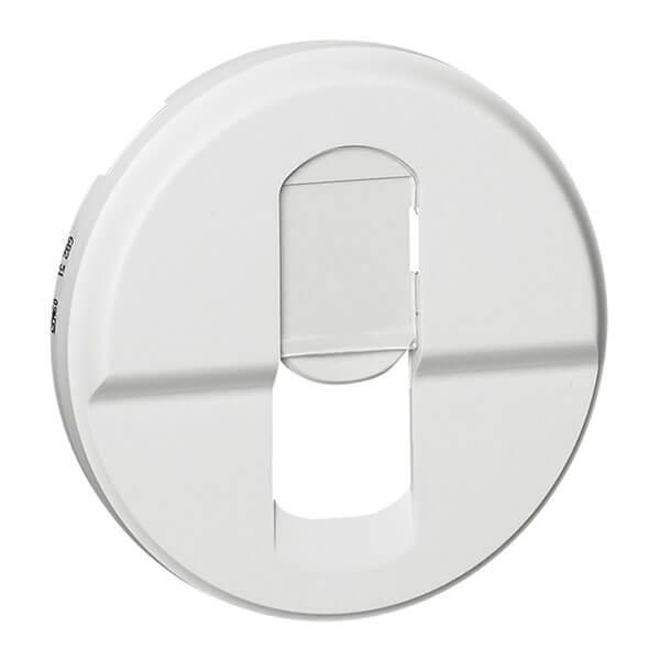 Лицевая панель Legrand Celiane розетки компьютерной RJ45 белая 068251 цена