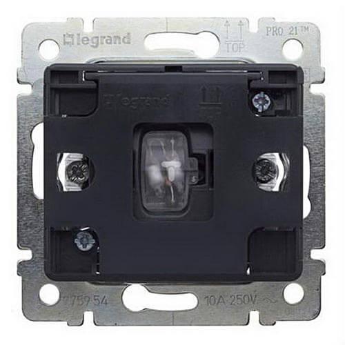 Выключатель Legrand 775954 Galea life клавиша legrand galea для выключателя 1 клавишного белый 777010
