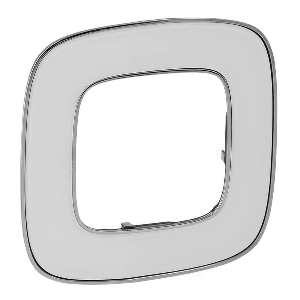Рамка 1-постовая Legrand Valena Allure Зеркало 754421 legrand рамка 1 постовая legrand valena allure тиснение белое 754371