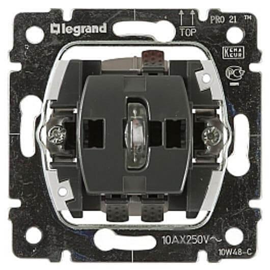 Выключатель Legrand 775822 Galea life клавиша legrand galea для выключателя 1 клавишного белый 777010