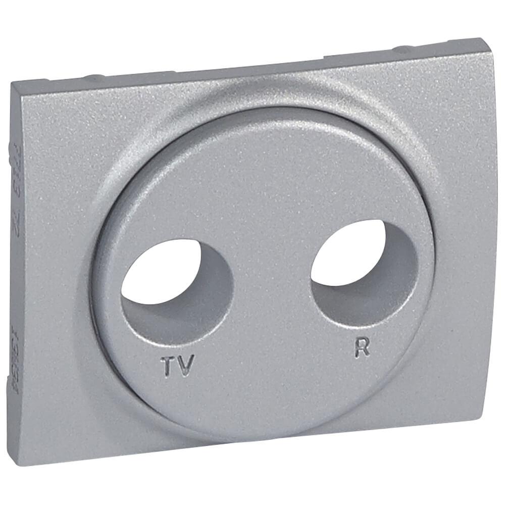 Лицевая панель Legrand Galea Life розетки TV-RD алюминий 771372
