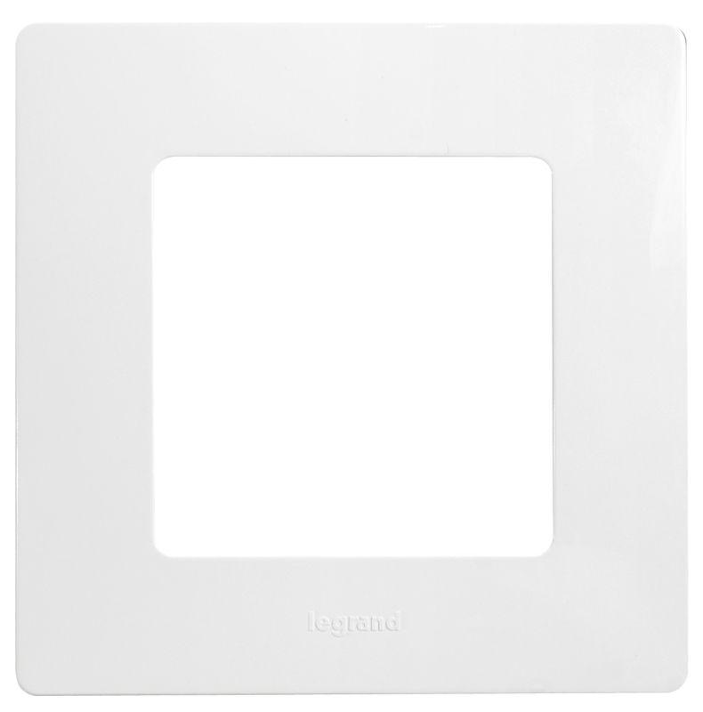 цены Рамка 1-постовая Legrand Etika белая 672501