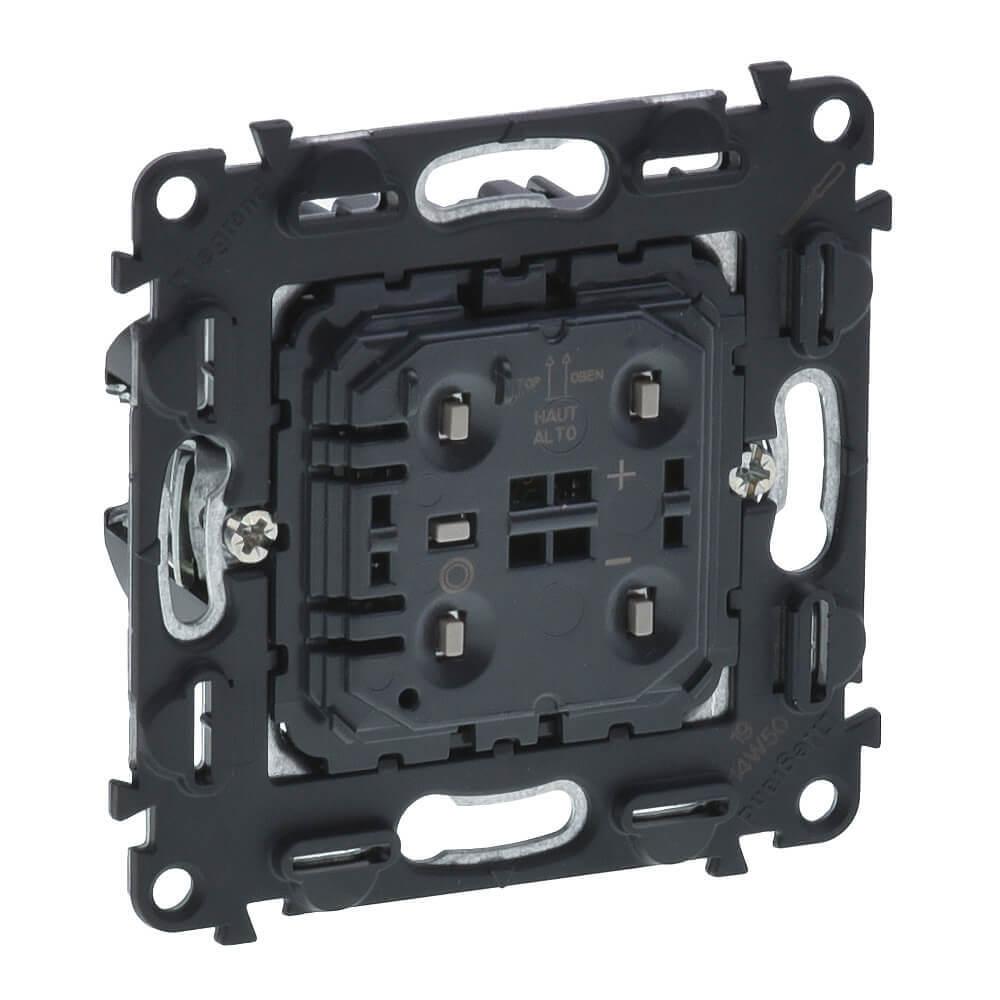 цены Светорегулятор Legrand Valena Мех In Matic кнопочный без нейтрали винтовой зажим 752062