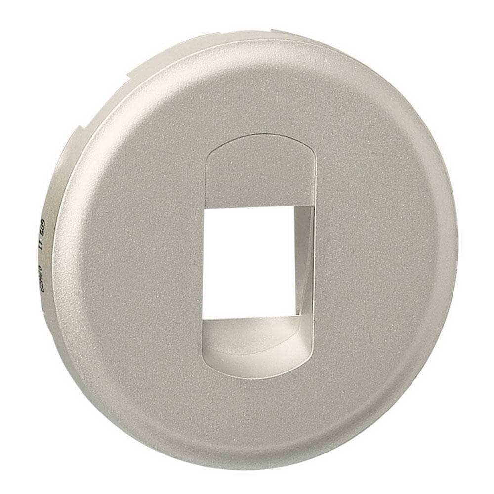цена на Лицевая панель Legrand Celiane розетки акустической титановая 068511