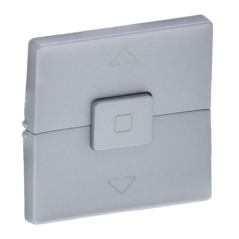 цена на Лицевая панель Legrand Valena Life выключателя жалюзи алюминий 755142