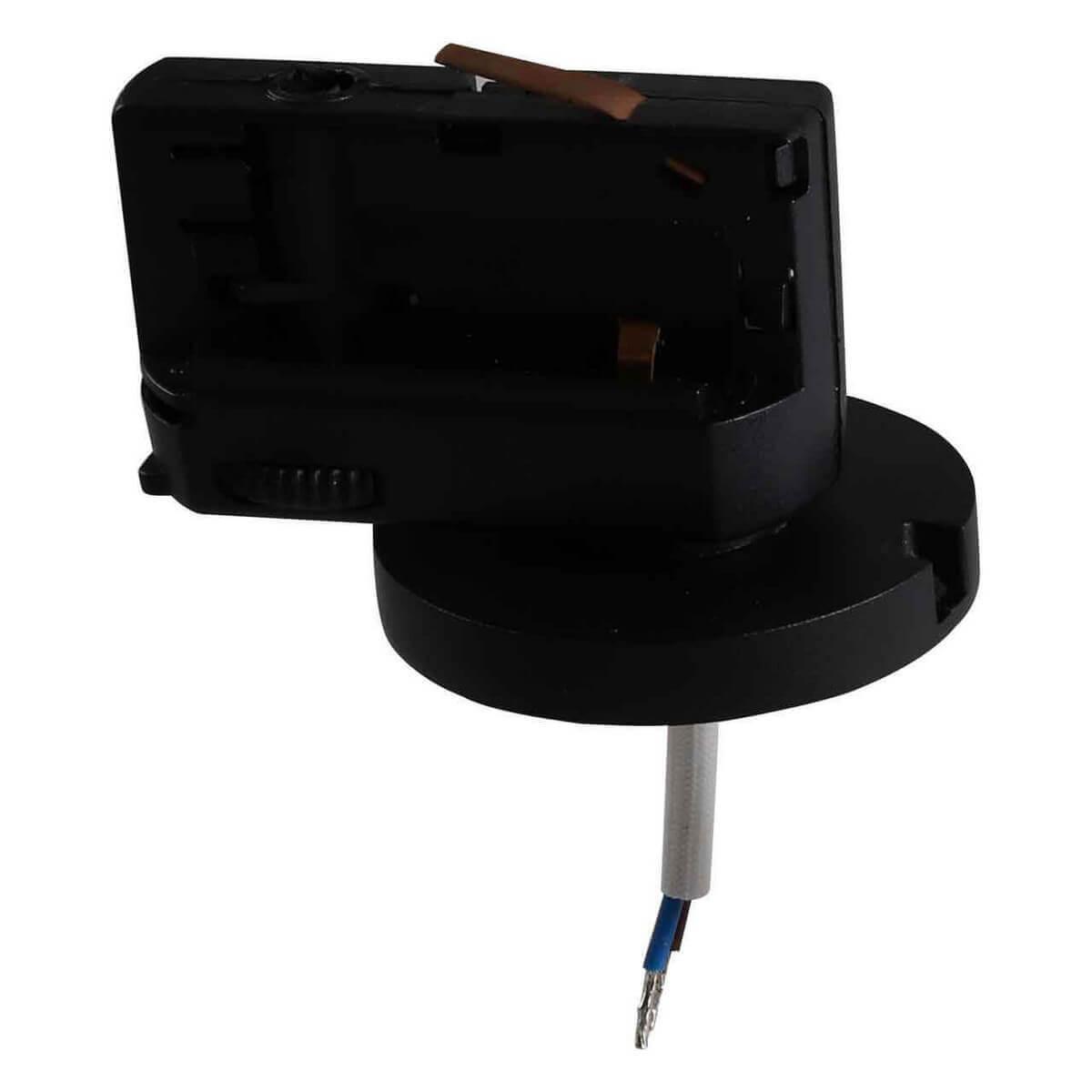 Адаптер для шинопровода Lightstar 594077 Asta Black (для трехфазного шинопровода)