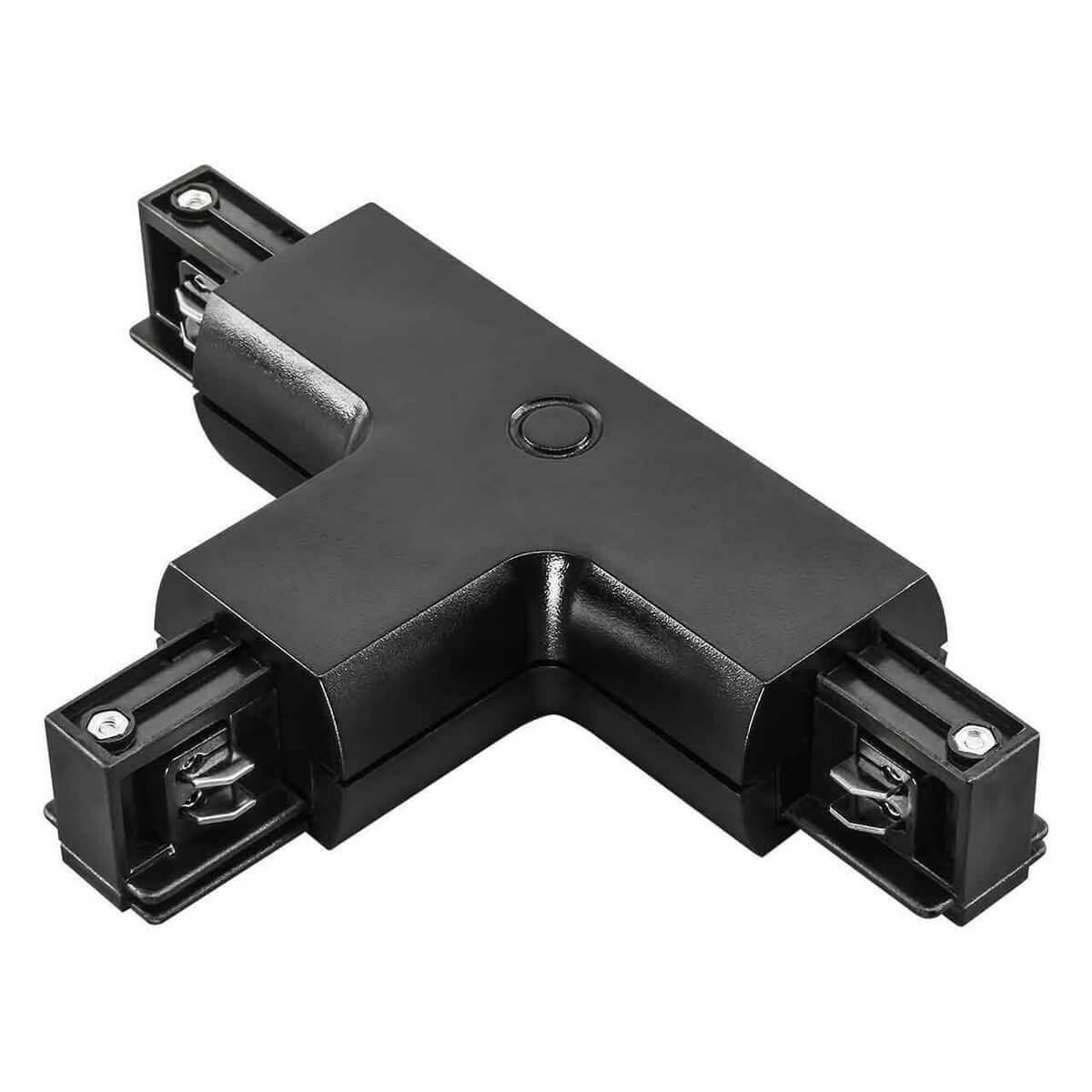 Коннектор Lightstar 504137 Barra Black (для трехфазного шинопровода) фото