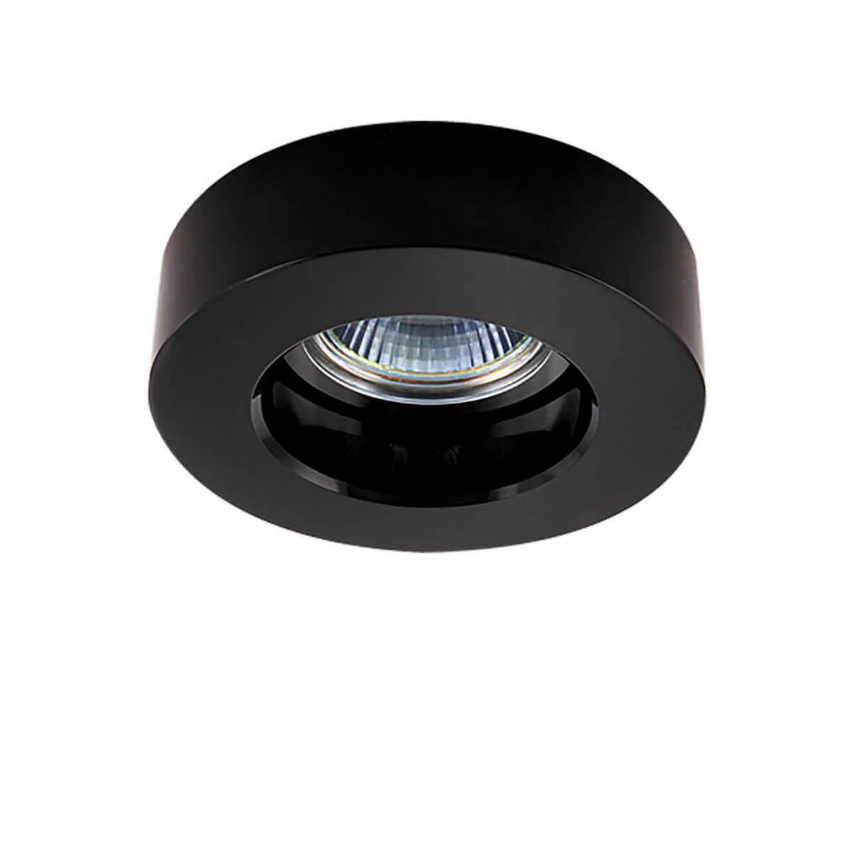 Встраиваемый светильник Lightstar Black 006117 встраиваемый светильник lightstar lei 006117