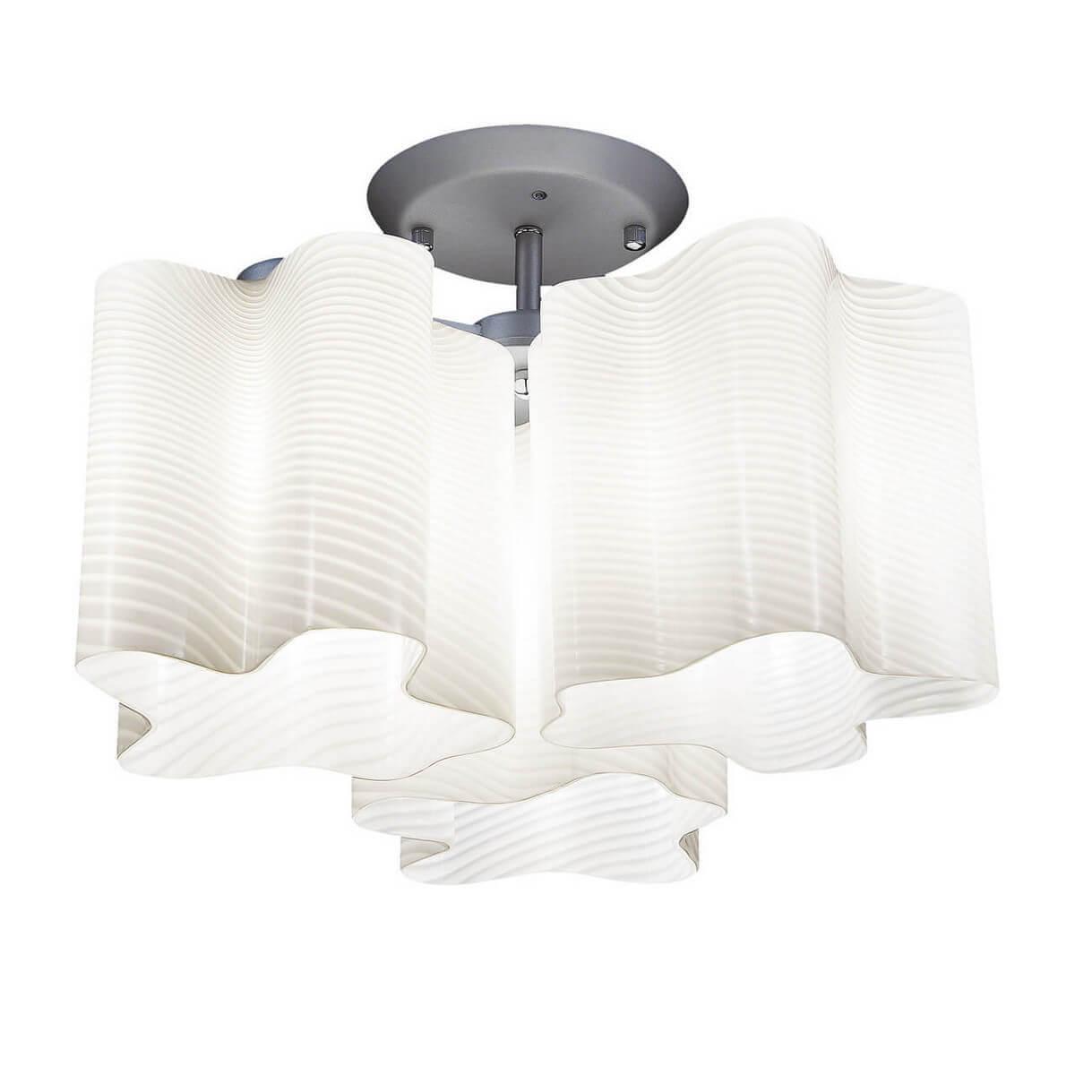 Потолочная люстра Lightstar Nubi Ondoso 802031 lightstar 802130 md998 3 подвес nubi 3х40w e27 хром белый шт