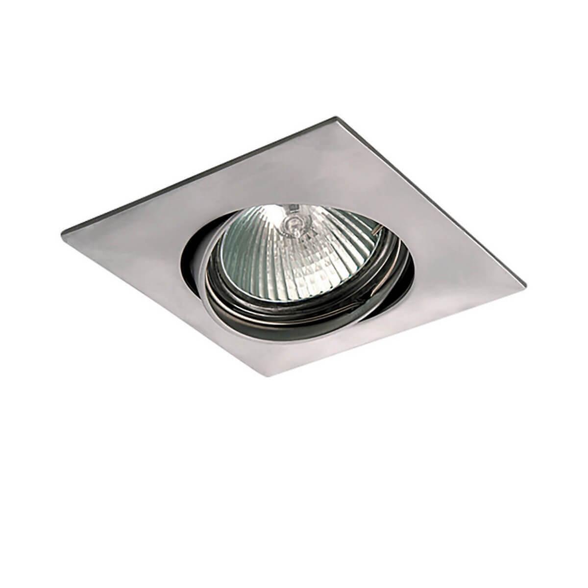 Встраиваемый светильник Lightstar Lega 011039 lightstar встраиваемый светильник lightstar lega qua 011039