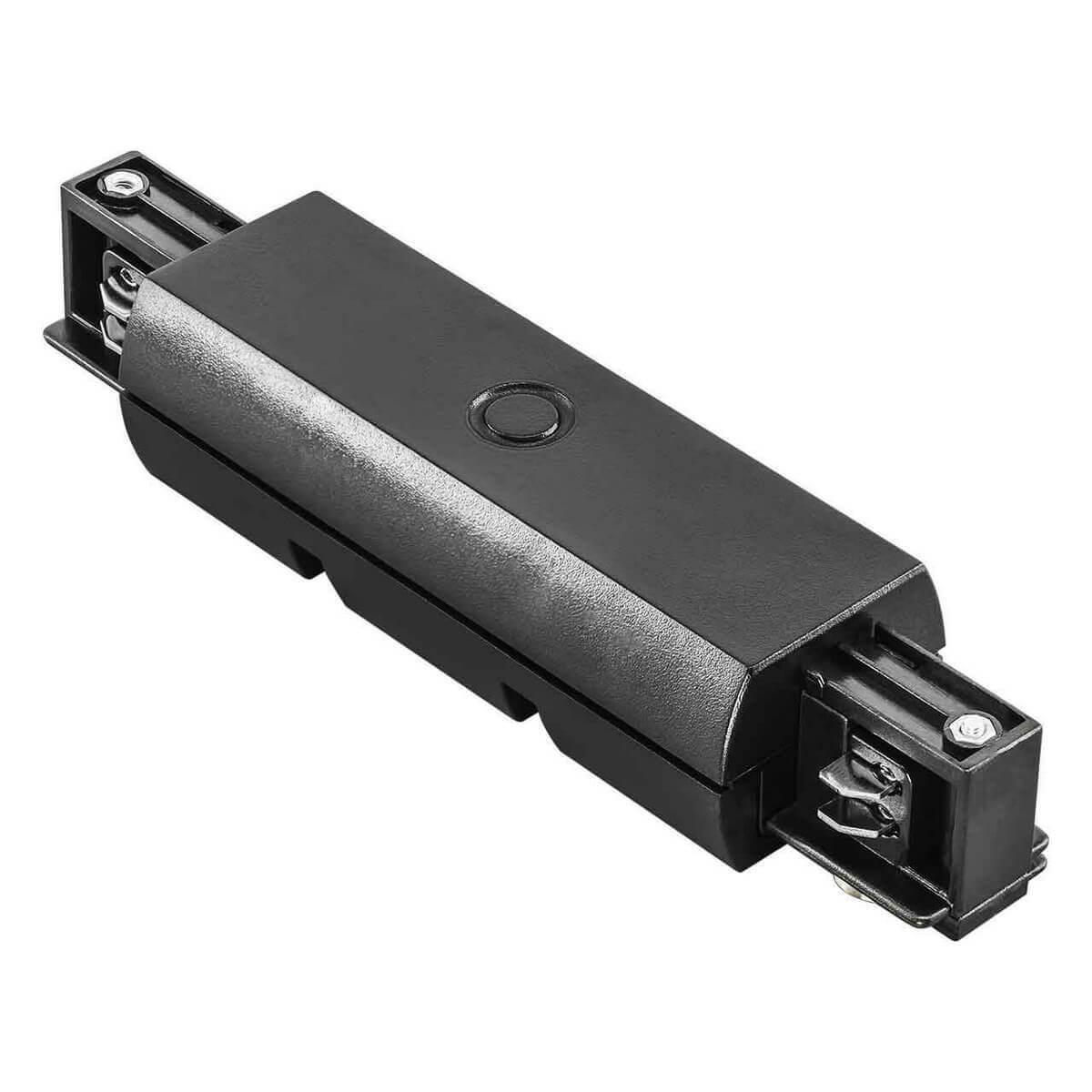 Коннектор Lightstar 504187 Barra Black (для трехфазного шинопровода)