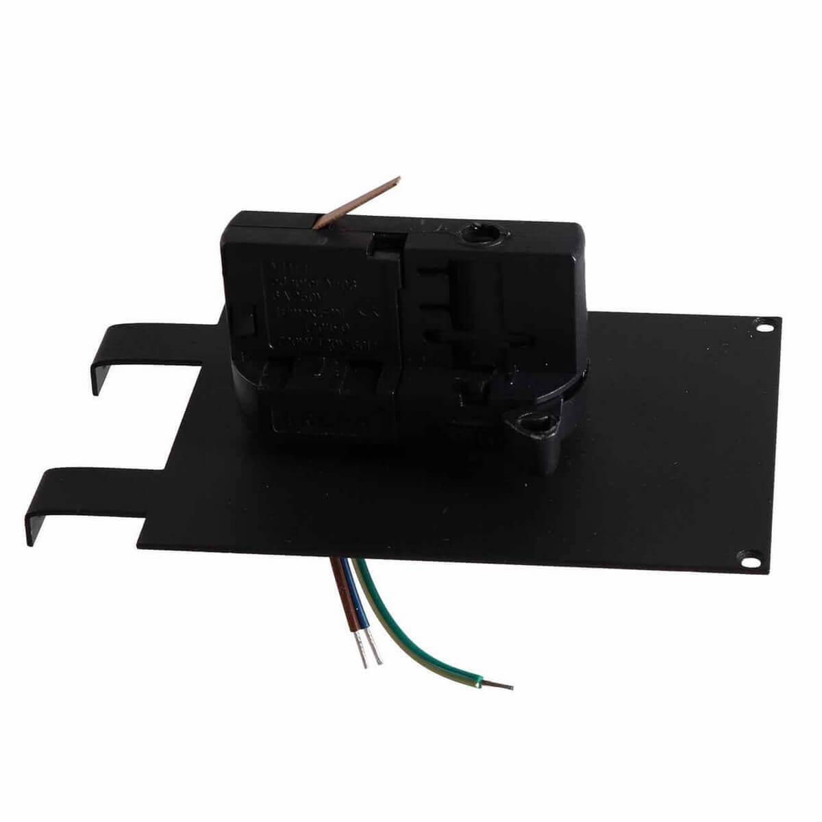 Адаптер для шинопровода Lightstar 594037 Asta Black (для трехфазного шинопровода)
