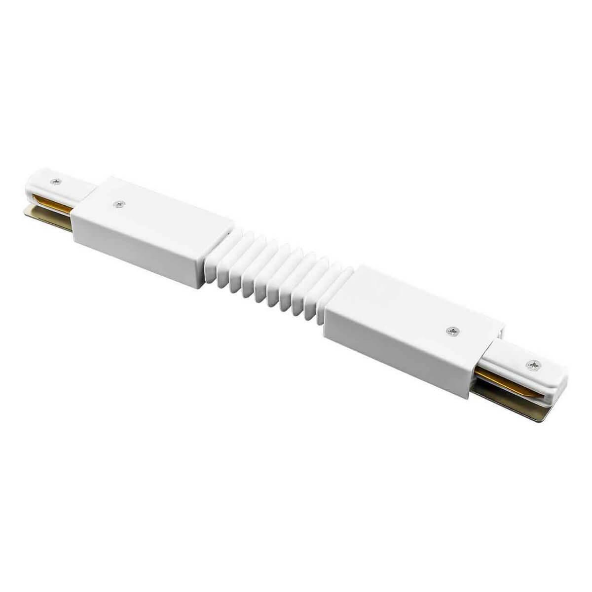 Коннектор Lightstar 502156 Barra White (для однофазного шинопровода) фото