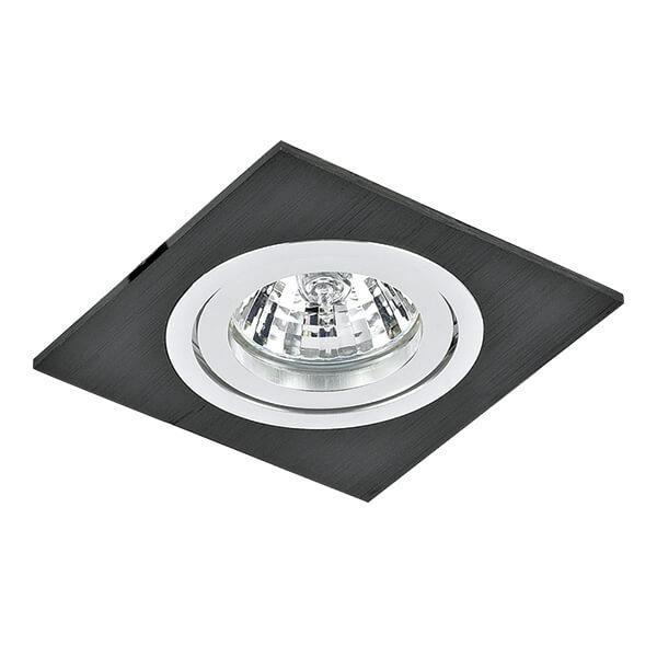 Встраиваемый светильник Lightstar Banale Weng Qua 011007 встраиваемый точечный светильник коллекция banale 011007q черный lightstar лайтстар