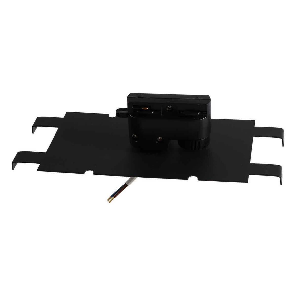 Адаптер для шинопровода Lightstar 592047 Asta Black (для однофазного шинопровода) фото