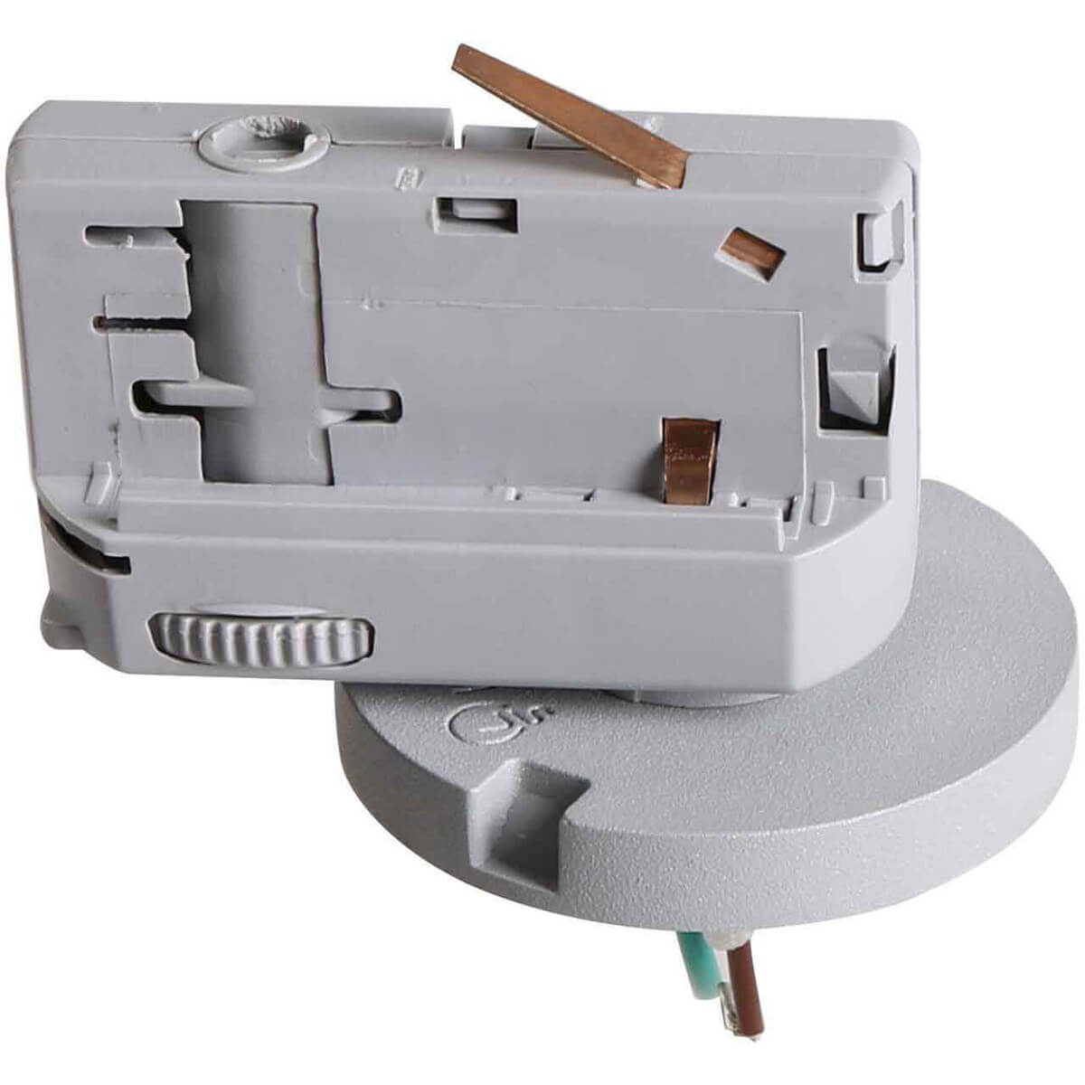 Адаптер для шинопровода Lightstar 594019 Asta Gray (для трехфазного шинопровода)