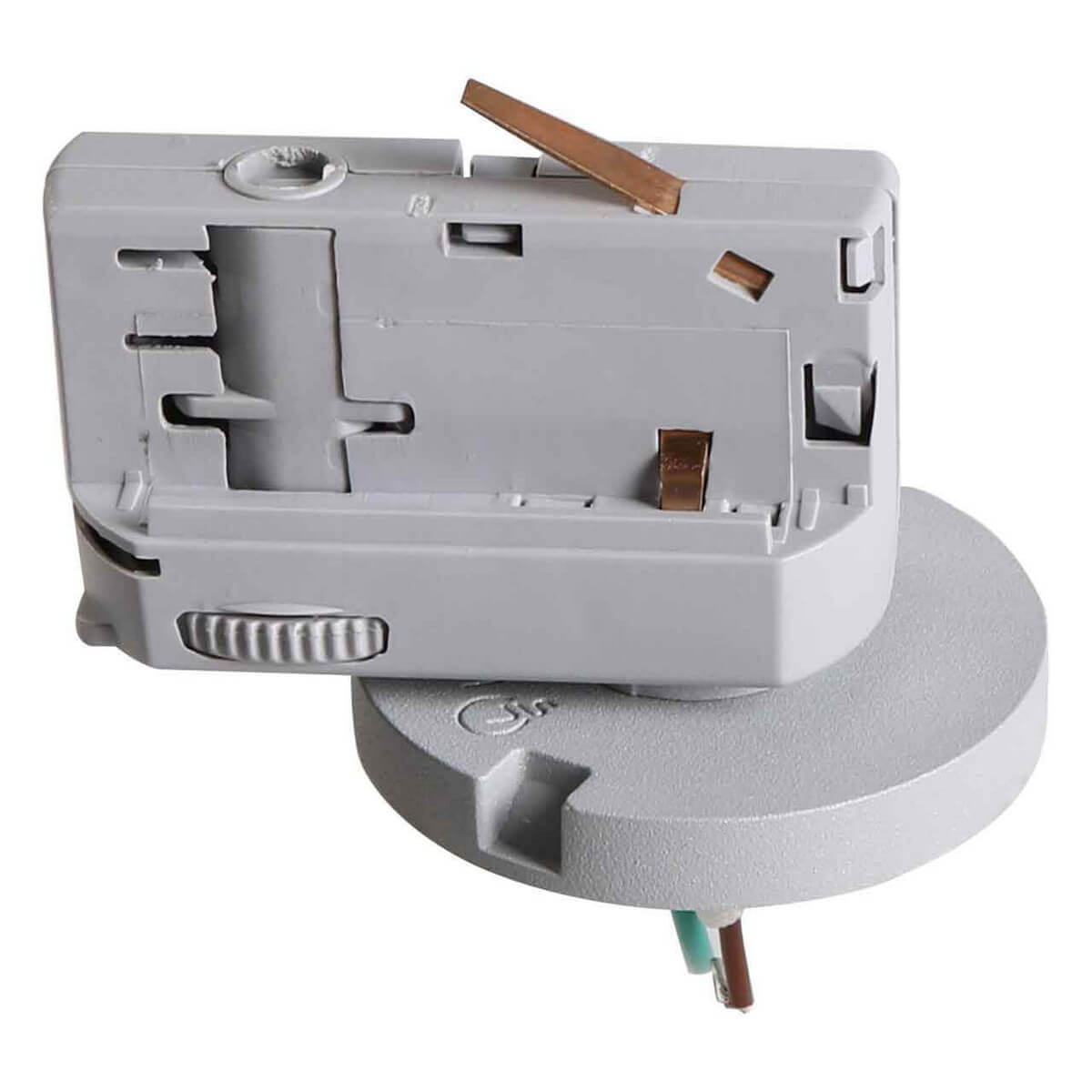 Адаптер для шинопровода Lightstar 594079 Asta Gray (для трехфазного шинопровода)