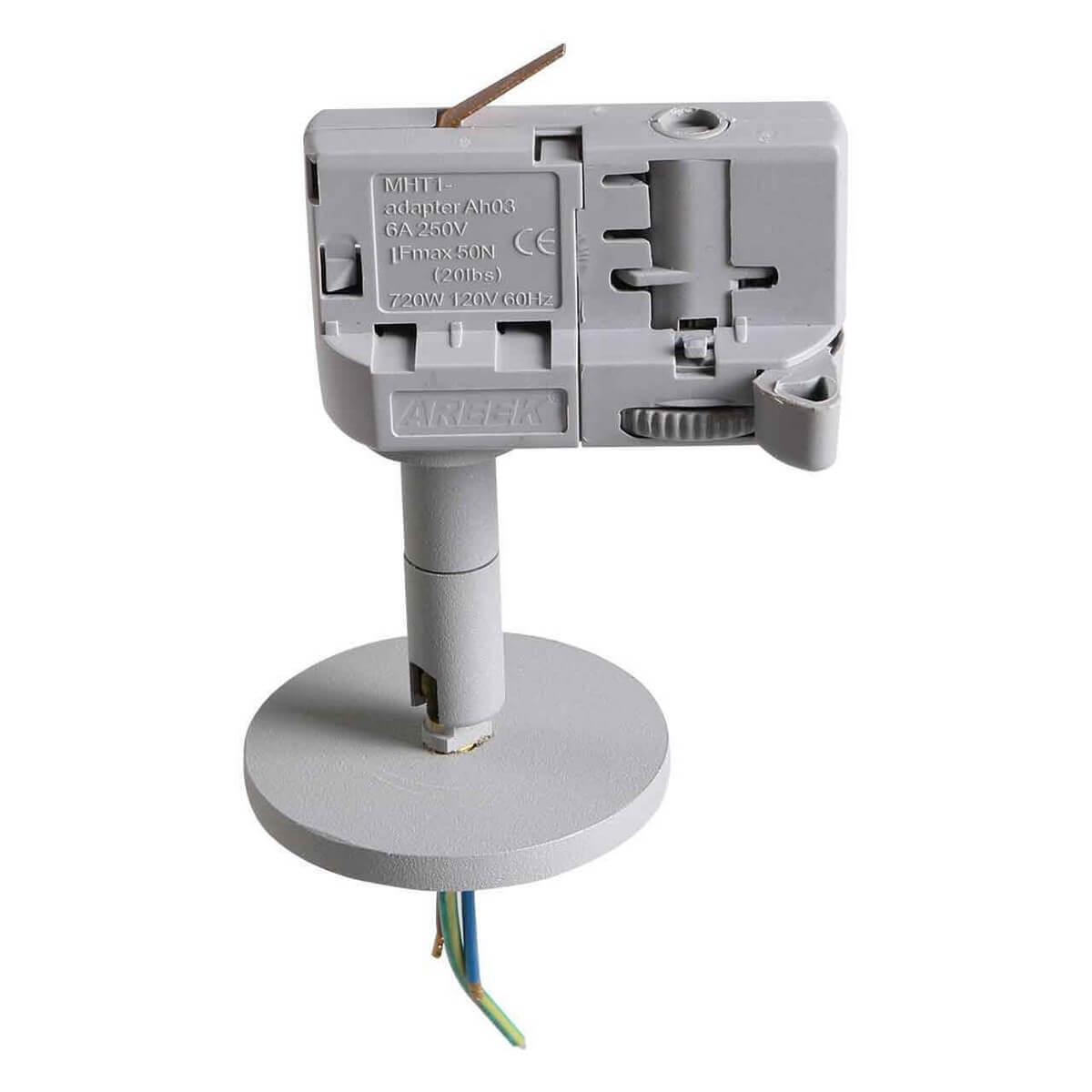 Адаптер для шинопровода Lightstar 594059 Asta Gray (для трехфазного шинопровода)