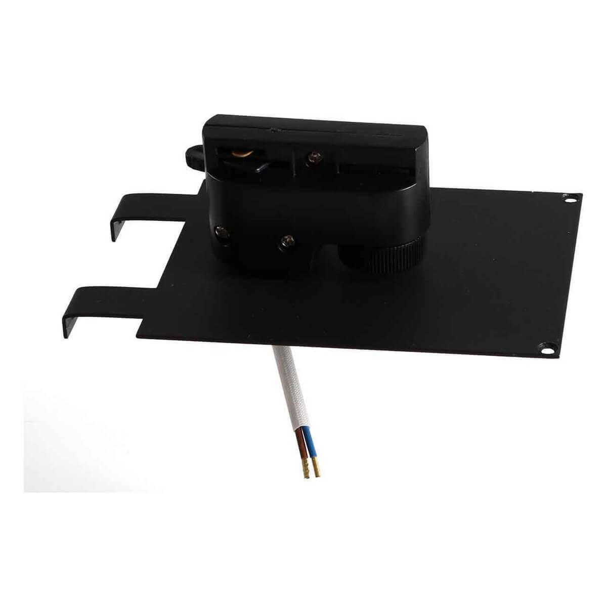 Адаптер для шинопровода Lightstar 592037 Asta Black (для однофазного шинопровода)