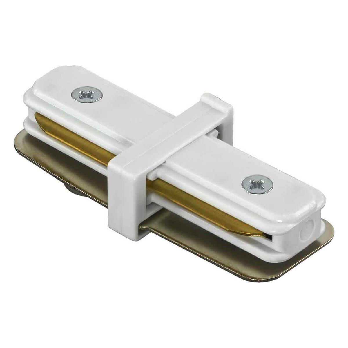 Коннектор Lightstar 502106 Barra White (для однофазного шинопровода) фото
