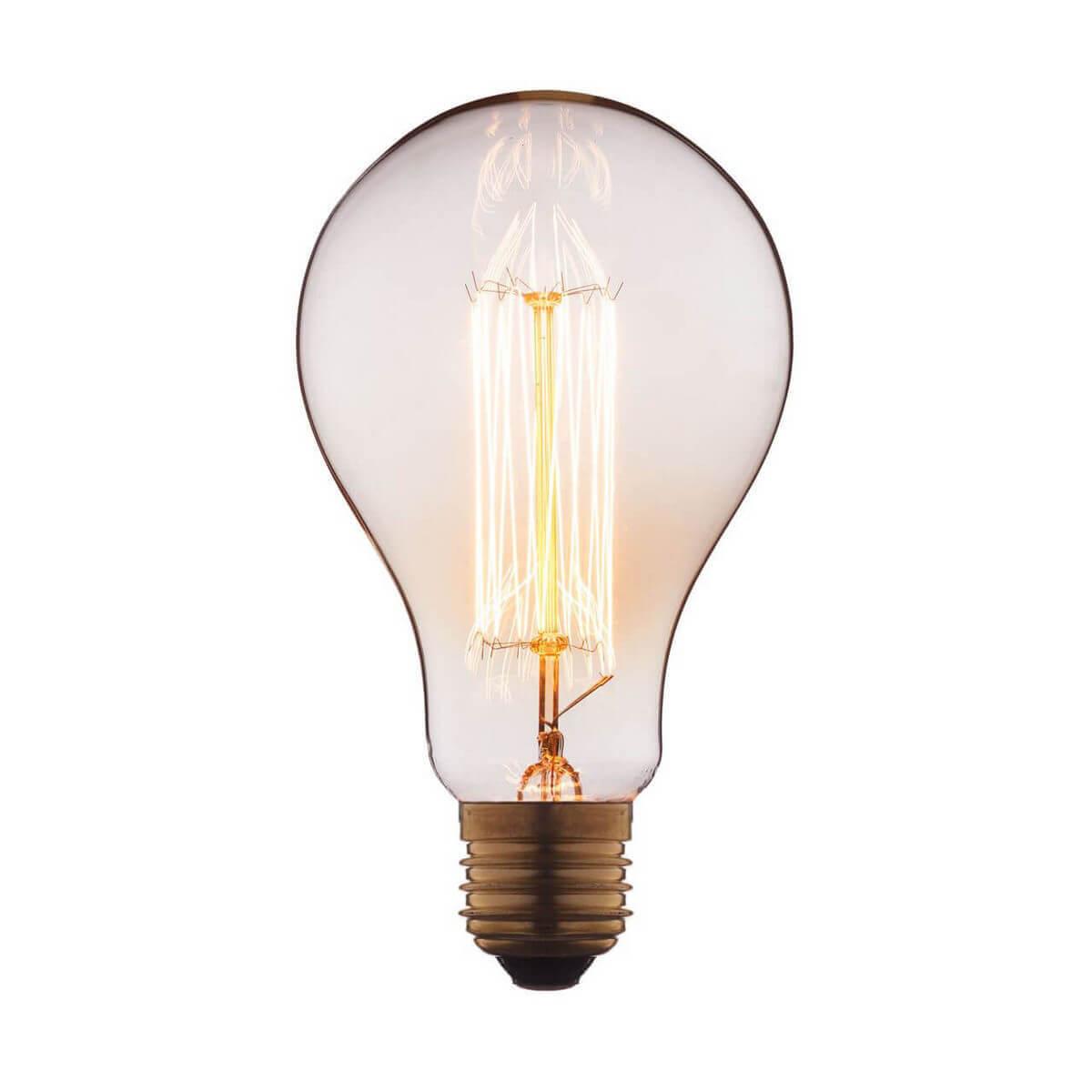 Лампа накаливания E27 60W прозрачная 9560-SC
