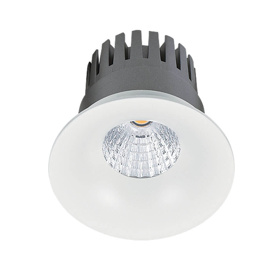 Встраиваемый светодиодный светильник Lucia Tucci Solo 132.1-12W-WT