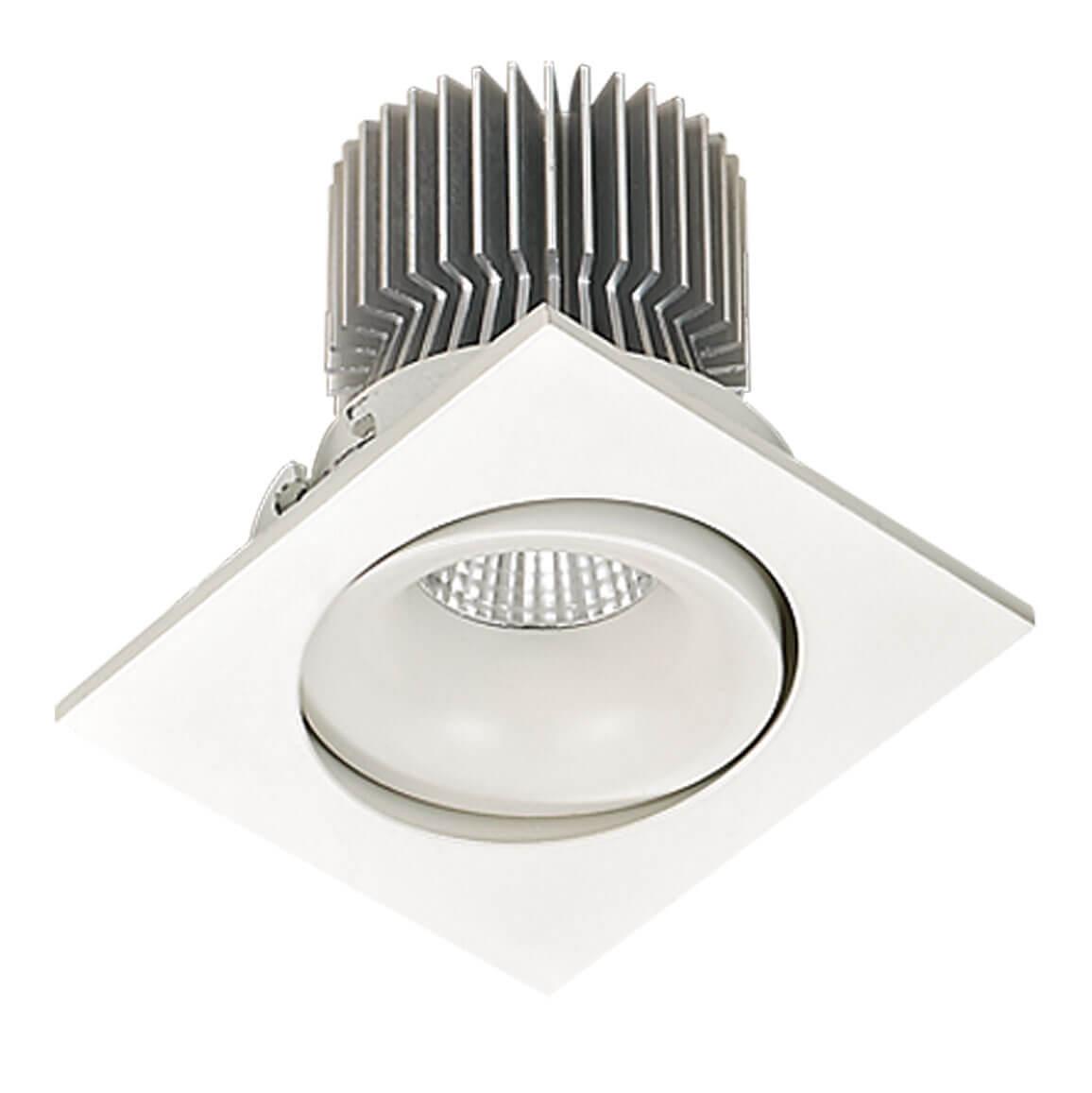 Встраиваемый светодиодный светильник Lucia Tucci Logic 727.1-7W-WT