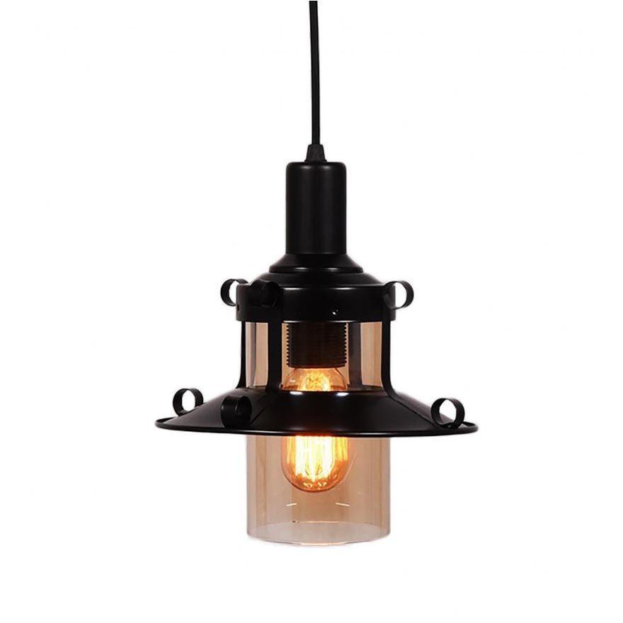 Светильник Lumina Deco LDP 11328-1 BK Capri