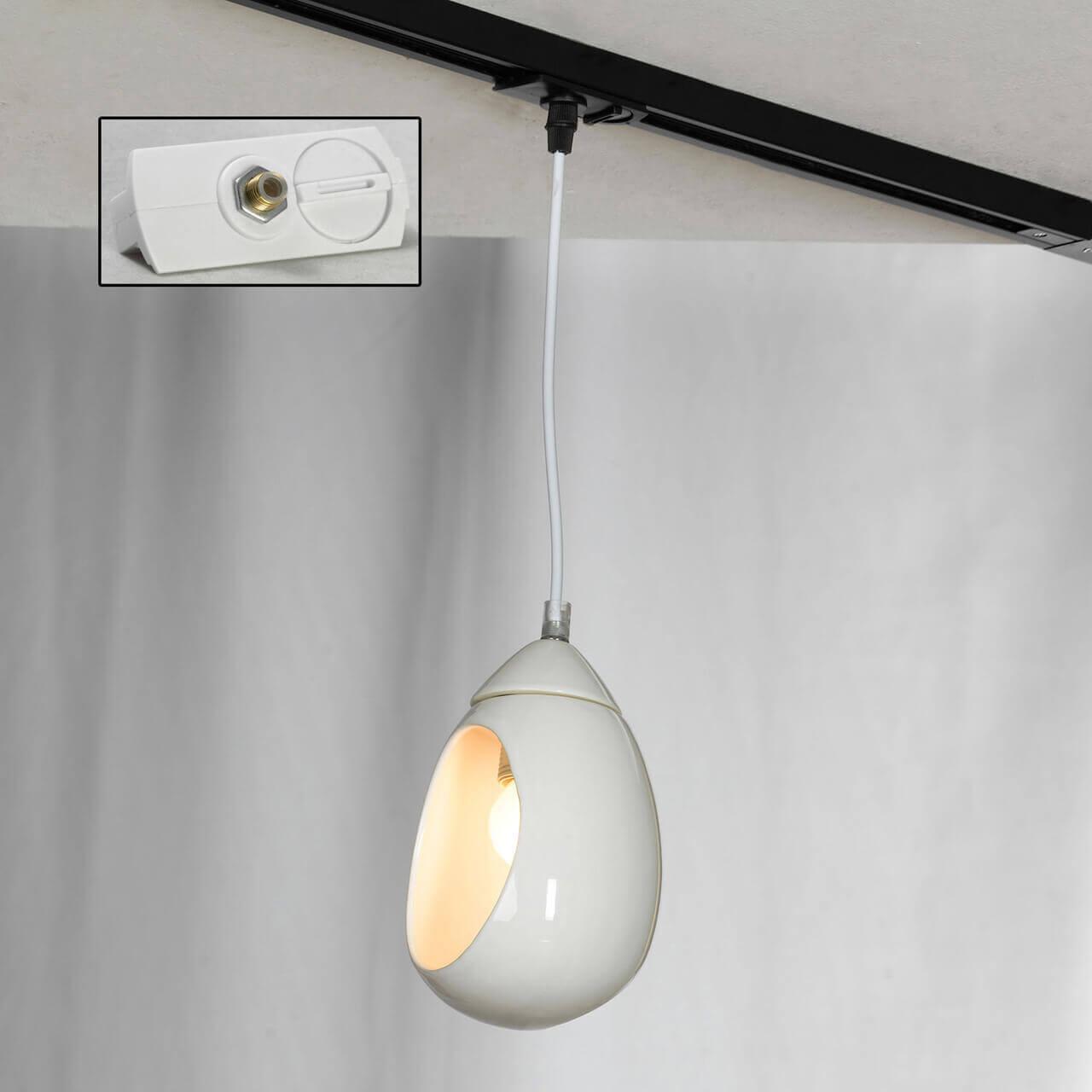лучшая цена Трековый светильник однофазный Lussole LOFT Track Lights LSP-8034-TAW