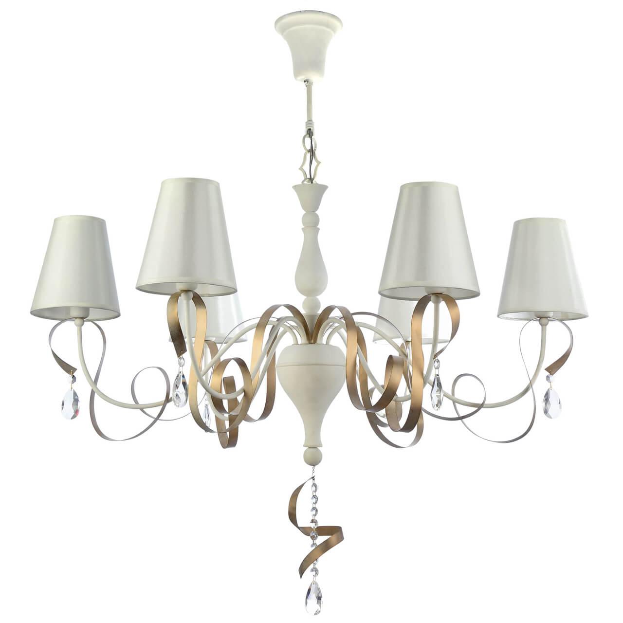 Люстра Maytoni ARM010-06-W Intreccio maytoni настольная лампа maytoni intreccio arm010 11 r