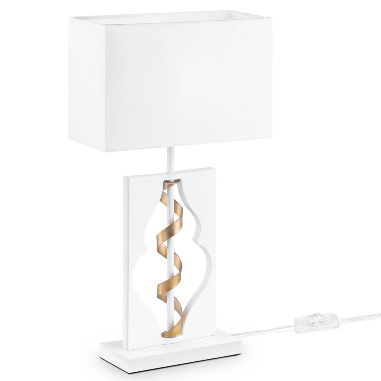 Настольная лампа Maytoni ARM010-11-W Intreccio White maytoni настольная лампа maytoni intreccio arm010 11 r