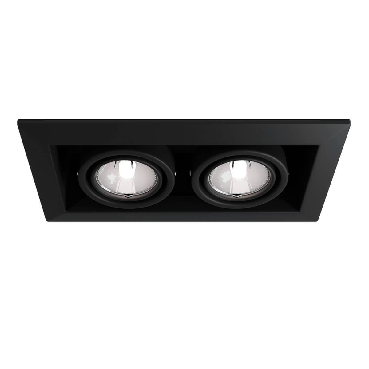 Светильник Maytoni DL008-2-02-B Metal Black