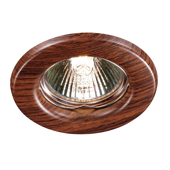 Светильник Novotech 369714 Spot встраиваемый светильник wood 369714