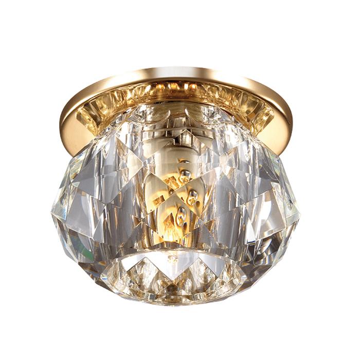 Встраиваемый светильник Novotech Arctica 369726 novotech 369724 nt12 203 золото встраиваемый светильник ip20 g9 40w 220v arctica