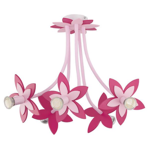 Люстра Nowodvorski 6896 Flowers Pink