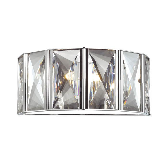 Настенный светильник Odeon Light Brittani 4119/2W odeon light 2231 2w odl12 631 хром хрусталь бра c выкл g9 2 40w 220v lola