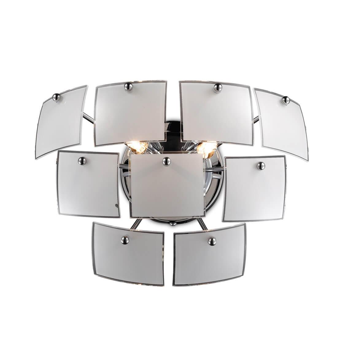 Бра Odeon Light Vorm 2655/2W odeon light 2231 2w odl12 631 хром хрусталь бра c выкл g9 2 40w 220v lola