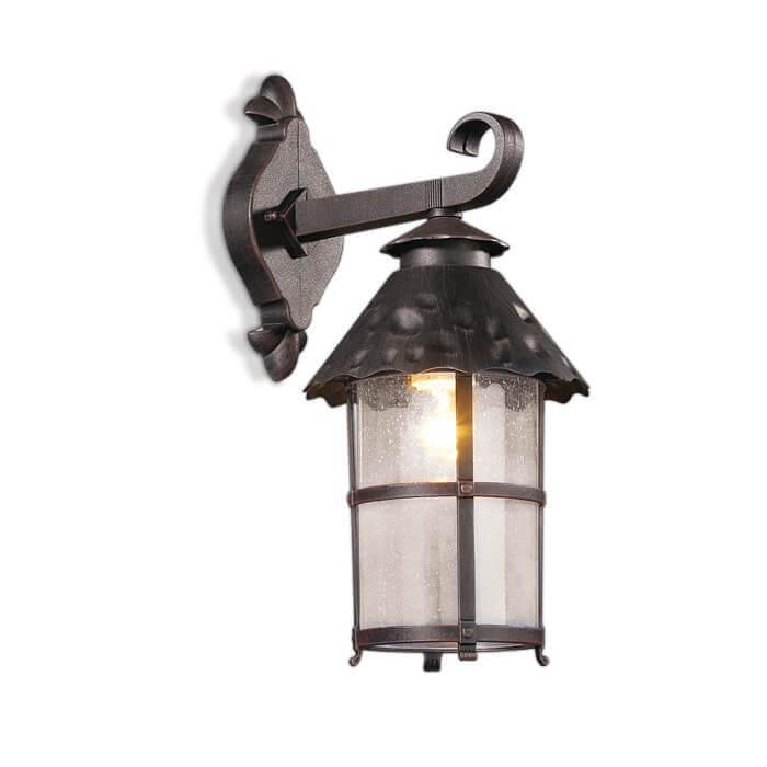 Уличный настенный светильник Odeon Light Lumi 2312/1W светильник настенный бра коллекция crea 2597 1w хром прозрачный odeon light одеон лайт