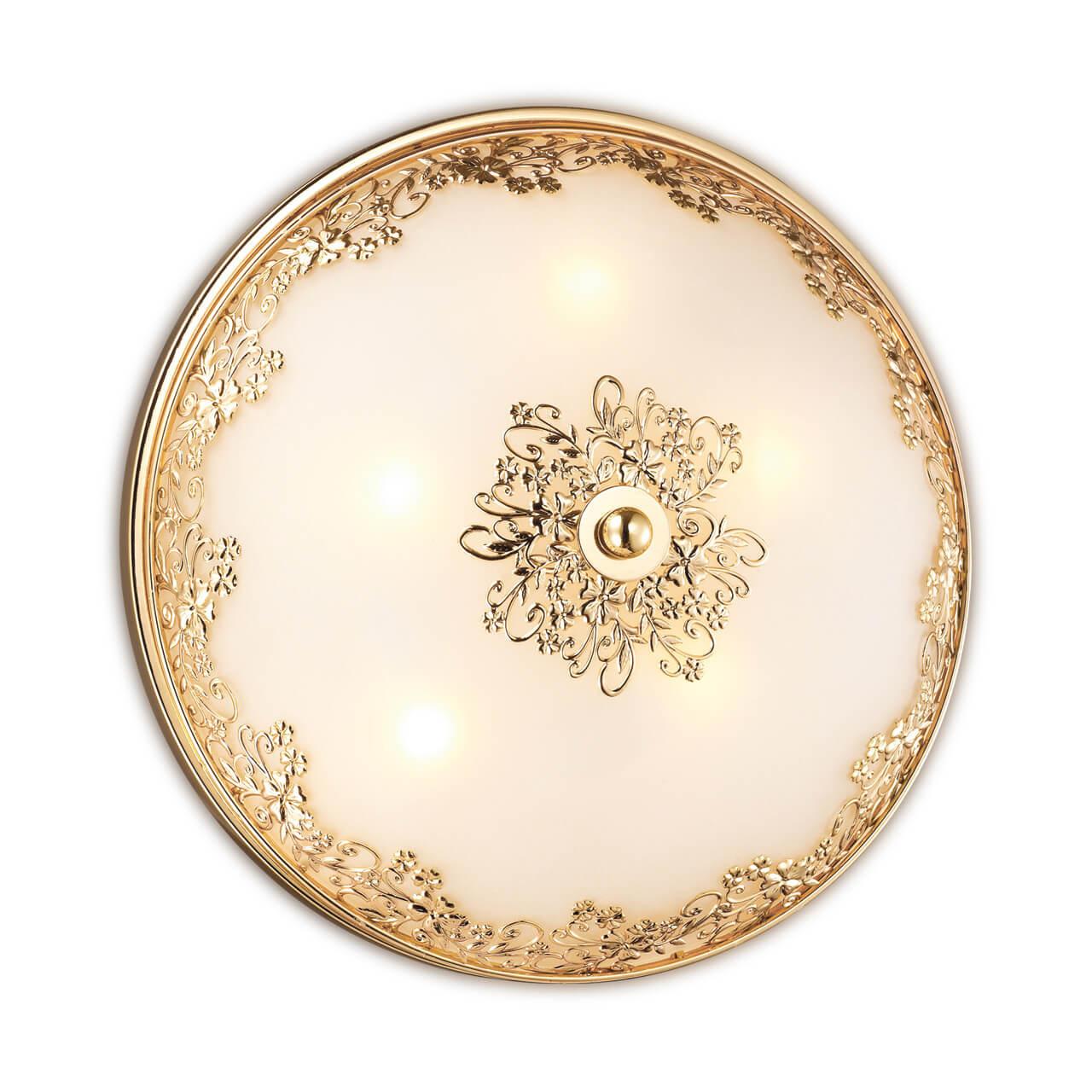 Потолочный светильник Odeon Light Alesia 2676/5C светильник настенно потолочный odeon light 2677 6c odl14 427 g9 6 40w 220v palmira золото белый