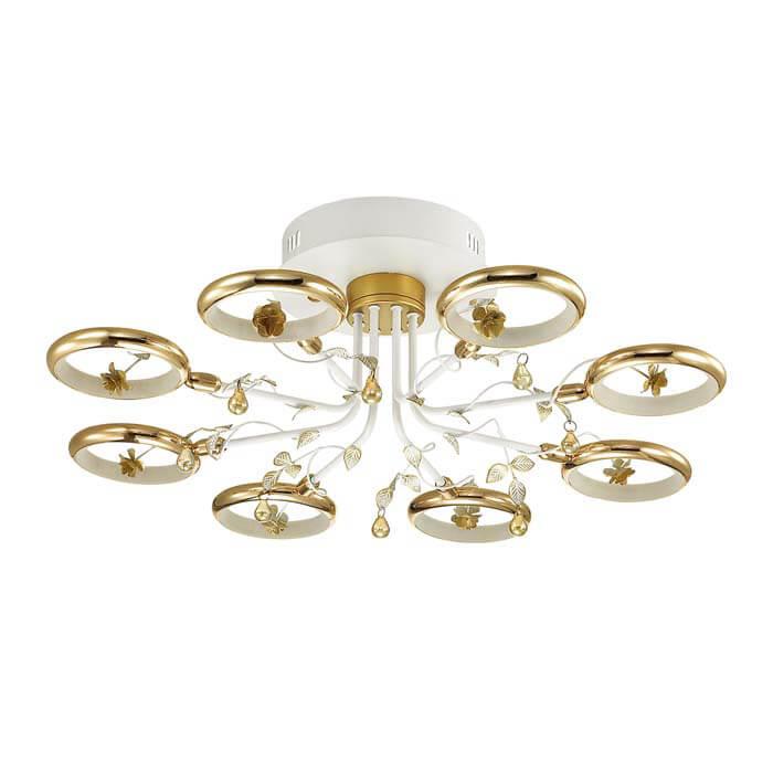 Потолочная светодиодная люстра Odeon Light Fiuggi 4036/48L цена и фото