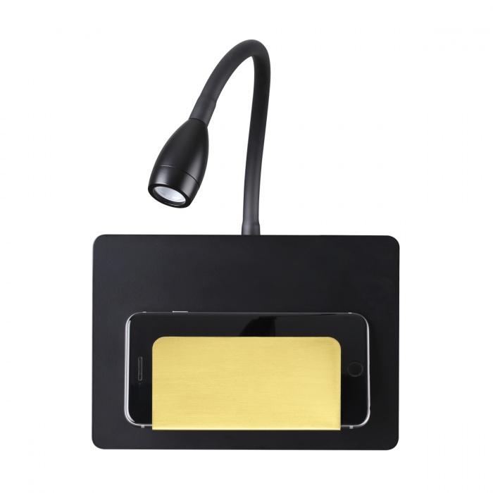 Бра Odeon Light 4242/3WL Hightech (USB зарядное устройство) зарядное устройство fusechicken gravity lift wgl