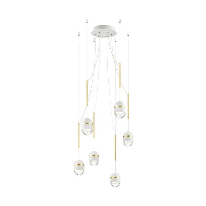 Подвесная светодиодная люстра Odeon Light Minion 4117/30L